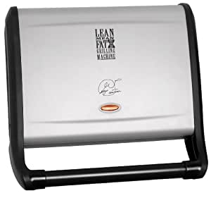 George Foreman 14053 Silver 5-Portion Family Grill