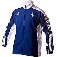 adidas Mt14 Chaqueta Real Zaragoza Fc, Hombre, Azul (Azuosc), S