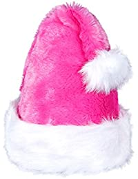 Weihnachtsmütze | Nikolausmütze Weihnachtsmann Mütze | kuschelweich & angenehm zu tragen | Für Kinder & Erwachsene | von ALSINO