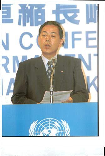 Fotomax Vintage Photo of Nagasaki Mayor Itcho Ito. -