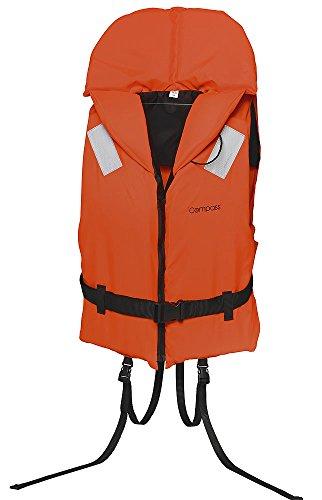 Rettungsweste Schwimmweste Compass 100 Newton mit Schritt- und Taillengurt, 30-40 kg