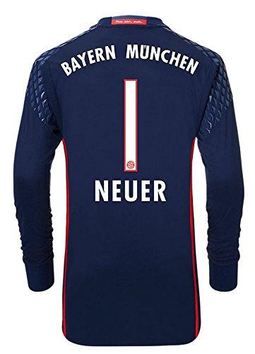 Trikot Adidas FC Bayern 2016-2017 Home Torwart (Neuer 1, 176)