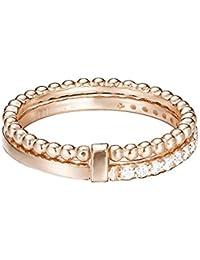 ESPRIT Damen-Stapelring 925 Silber rhodiniert Zirkonia transparent