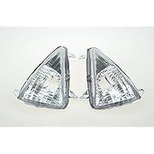 Topzone Lighting transparente lente motocicleta indicadores Intermitentes para Honda Cbf600S Varadero 1000 2004-2009