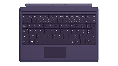 Microsoft A7Z-00019 Type Cover Tastatur, für Surface Type 3 violett AZERTY