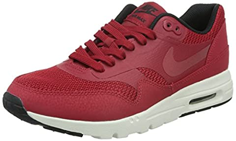 Nike W Air Max 1 Ultra Essentials, Chaussures de Sport Femme, Rouge-Rojo (Gym Red / Gym Red-Black-Sail), 39