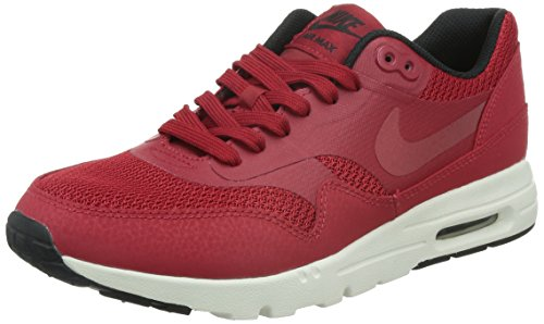 Nike Damen W Air Max 1 Ultra Essentials Turnschuhe, Rot Rojo (Gym Red / Gym Red-Black-Sail)