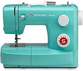 Singer Simple 3223 Green Automatic Sewing Machine including 23 Built-in Stitches, Sewing Light
