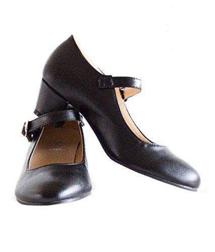 La Senorita Chaussures flamenco espagnol - Noir