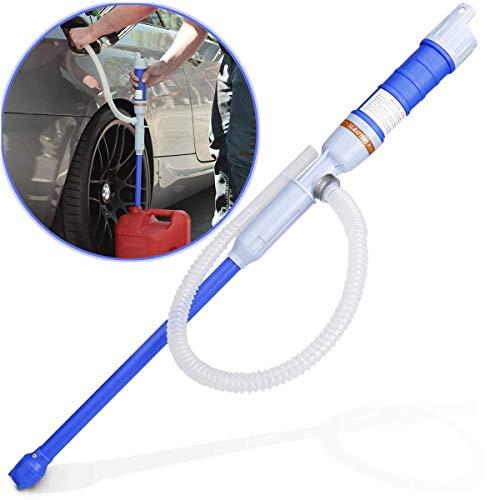 Sailnovo Benzinpumpe Elektrisch-Batteriebetriebene Kanisterpumpe Siphonpumpe-Flüssigkeitspumpe Hand pumpe für Flüssigkeiten wie Diesel Öl Wasser