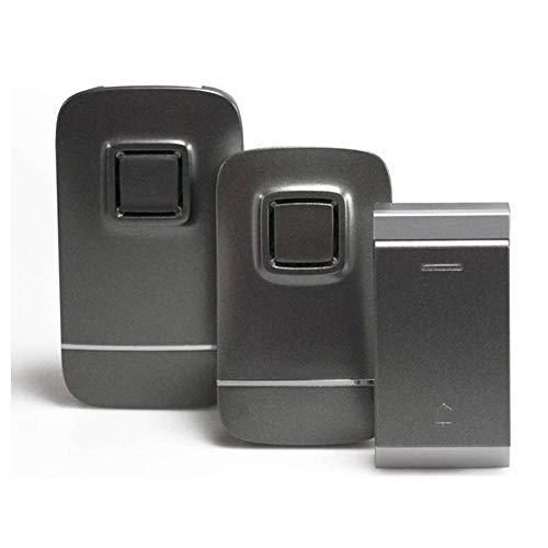 Mr Handsfree iBell Drahtlose Funkklingel Set - Tür klingel - KB300 - Funkklingel 1 sender 2 empfänger - Kabellos
