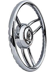 Osculati 45.169.00 - Volante Bliz inox (Blitz steering wheel w/SS outer ring)