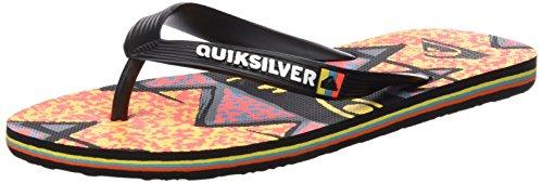 Quiksilver Uomo Molokai Ghetto sandali nero Size: 40