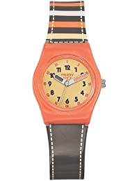 Trendy Kiddy - KL 250 - Montre Fille - Quartz Analogique - Cadran Rose - Bracelet Plastique Multicolore