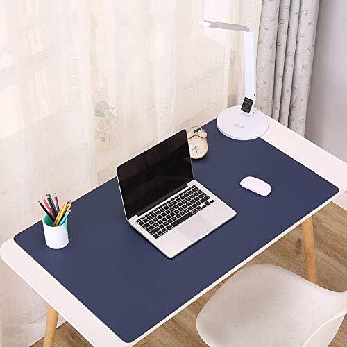 FEE-ZC Hause Kreative ComfortableDual Seitige Pu-Leder Schreibtisch Pad, Büro Große Mauspad, wasserdichte Schreibmatte Mauspad Für Laptop, Computer & Pc-i 1400x550mm (55 * 22in)