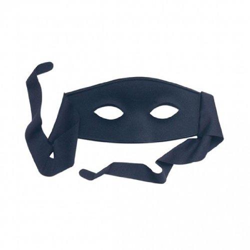 Eyemask: Bandit (Satin Ties) (Halloween Cher Kostüme)