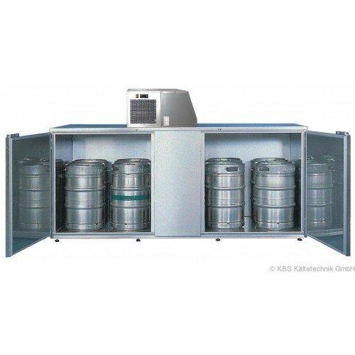 KBS Fasskühler-Gehäuse Fk 10 - für 10 Fässer - ohne Maschinenaufsatz