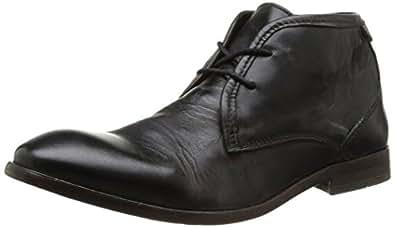 Hudson London Cruise Calf, Herren Chukka Boots, Schwarz (Black), 40 EU (6 Herren UK)