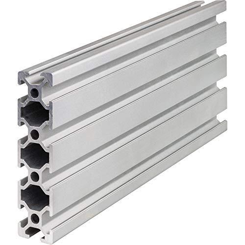 Systemprofil Aluminium Profil 2080 Nut 6 Aluprofil Alu Profil Montageprofil Stangenprofil Strebenprofil Nutprofil Bauprofil 20x80 (2000 mm)