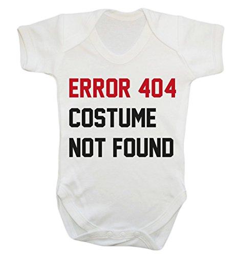 (Fehler 404Kostüm nicht gefunden Strampelanzug weiß weiß 18-24 Monate)