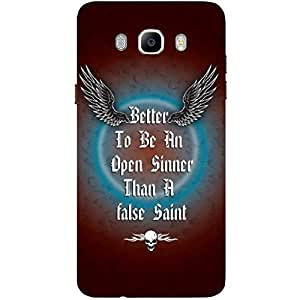 Better To Be - Mobile Back Case Cover For Samsung Galaxy J7 (2016)
