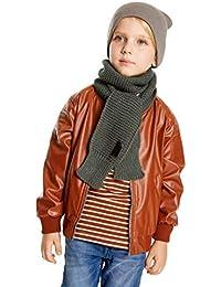 Amazon.it  Marrone - Giacche e cappotti   Bambini e ragazzi ... 9c321a240ce