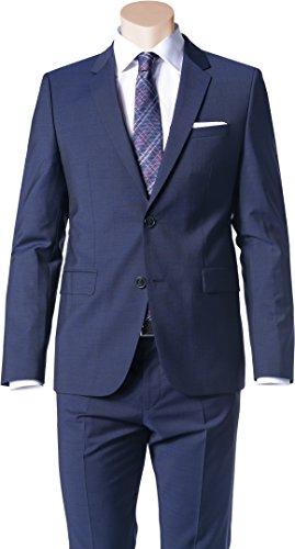 HUGO Herren Sakko Anzugjacke, Größe: 102, Farbe: Blau