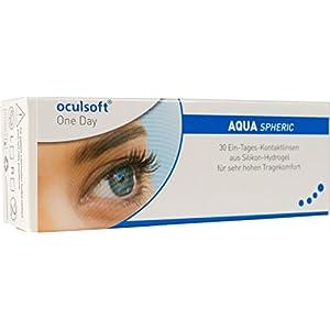 Oculsoft One Day Aqua Spheric Tageslinsen weich, 30 Stück / BC 8.6 mm / DIA 14.1