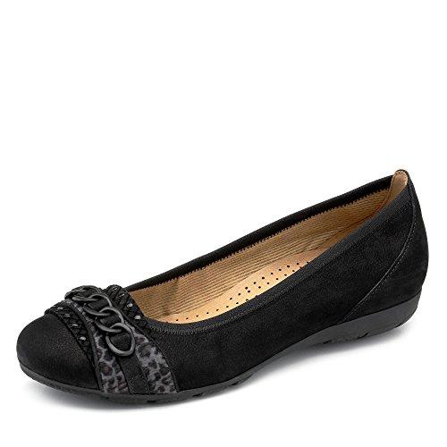 GaborGabor Sport 34.166 - Ballerine donna Black/anthrazit