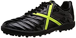 Vector X Kobra 001 Football Shoes, Mens UK 4 (Black/Green)