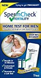 SpermCheck Fertility Home Test Kit | Indicates Normal or Low Sperm Count | Convenient, Private And Accurate | Easy To Read Results In 10 Minutes