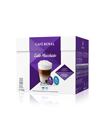 Café Royal Latte Macchiato Neue Generation, 48 kompatible Kapseln für Nescafé Dolce Gusto, 3er Pack (3 x 16 Kapseln)