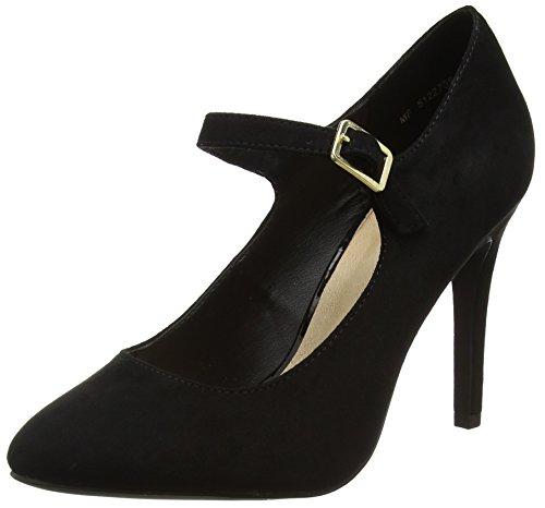 New Look Damen Trust Riemchenpumps Schwarz (Black)