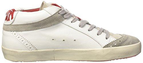 Ishikawa Japan, Sneaker a Collo Alto Unisex – Adulto Bianco