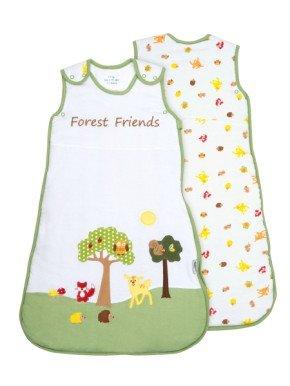 Sacco Nanna Slumbersac Neonato circa 2.5 Tog - Amici della Foresta - 0-6 mesi/70cm