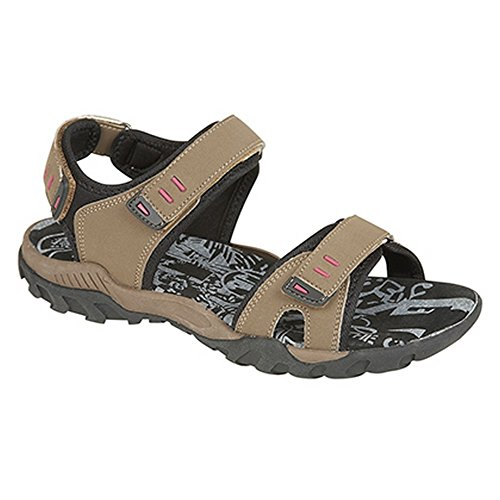 PDQ - Sandales scratch - Femme Light Grey/Mint