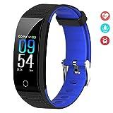 EFO SHM Fitness Armband Blutdruck Fitness Tracker Wasserdicht IP68 Schrittzähler Sport Uhr...
