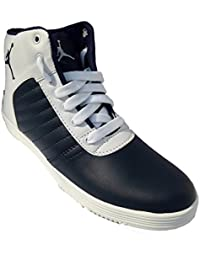 Walk Street Velcro And Lace Blue And White Boots / Shoes (AJ-LACE)