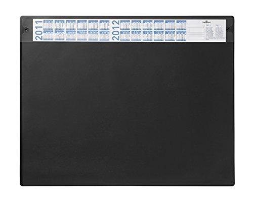 Durable 720501 Schreibunterlage (mit austauschbarer Abdeckung, 650 x 520 mm) 1 Stück, schwarz