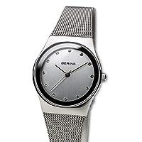 BERING Reloj Analógico para Mujer de Cuarzo con Correa en Acero Inoxidable 12927-000 de BERING