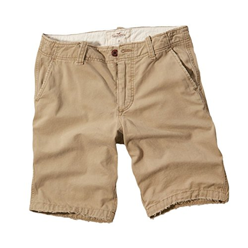 Hollister Herren Hollister Longboard Fit Shorts Bermudas, Größe Medium, Khaki (615210961) (Hollister Abercrombie)