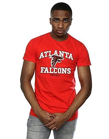 Majestic Men's NFL Atlanta Falcons Football Alt T-Shirt Large Red