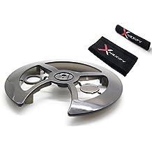 Protector de bielas de engranaje Nexify con protector de cadena para bicicleta – Plato de bicicleta universal Shield – 42-44T