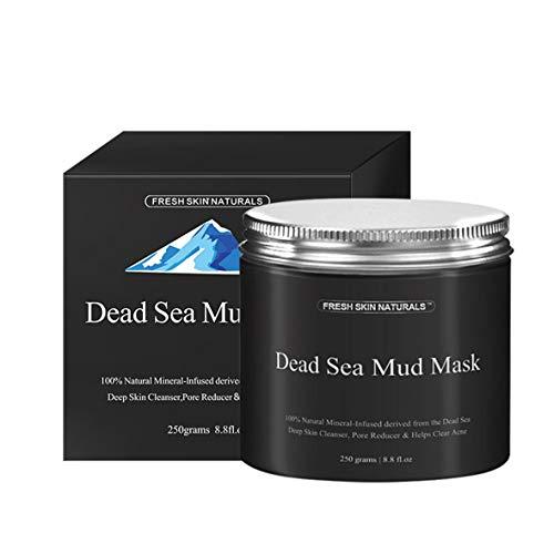 Heaviesk Schlammmaske Totes Meer Schlammmaske Gesichtsreiniger Anti-Akne-Feuchtigkeitsspendende Glättende Reinigungs-Reinigungsmaske - Totes Meer-feuchtigkeitsspendende