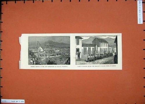 president-1874-de-waterworks-caracus-venezuela-de-festival