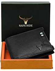 Napa Hide RFID Protected Genuine High Quality Leather Wallet