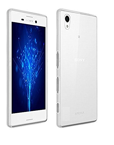 YORA Transparent Premium Soft Silicone Back Case Cover For Sony Xperia XA Ult... Ultra Thin Silicon Electroplated Edge TPU Flexible Back Case Cover  available at amazon for Rs.99