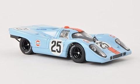 Porsche 917K, No.25, JWA Gulf, 1000km Spa , 1970, Modellauto, Fertigmodell, Brumm 1:43