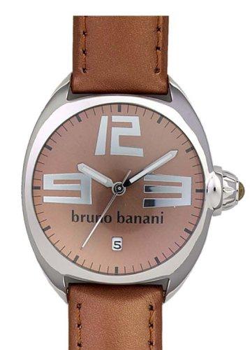 Bruno Banani - CD 3387.07 - Montre Femme - Quartz - Analogique - Bracelet Acier Inoxydable Marron