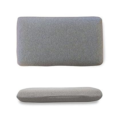 Almohada de viaje de espuma de memoria marca Cabin Max, para el apoyo de cabeza, cuello y espalda